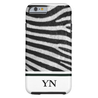 Capa Tough Para iPhone 6 Pele de Zebra