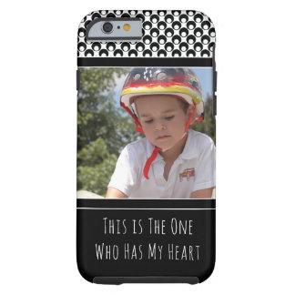 Capa Tough Para iPhone 6 Personalizado com a foto de sua criança adorável