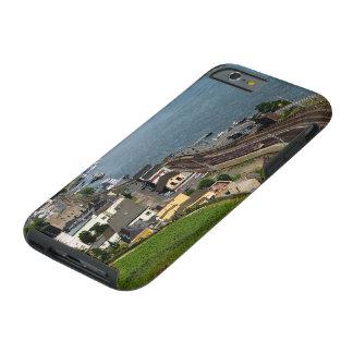Capa Tough Para iPhone 6 Personenzug em casa de tosco à reno