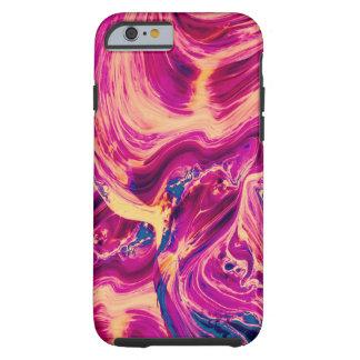 Capa Tough Para iPhone 6 Pintura a óleo abstrata surpreendente