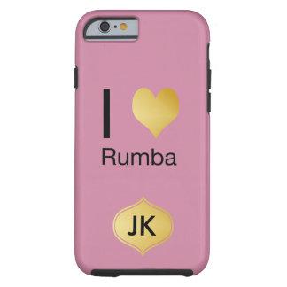 Capa Tough Para iPhone 6 Playfully o coração elegante de I Rumba