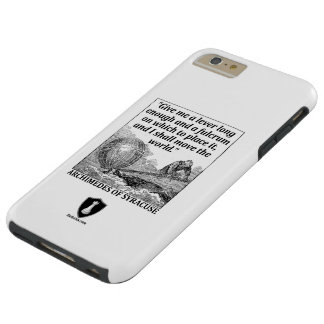 Capa Tough Para iPhone 6 Plus Alavanca de Archimedes
