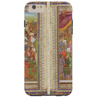 Capa Tough Para iPhone 6 Plus Arte muçulmana islâmica de Boho do Islão de India