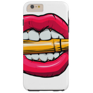 Capa Tough Para iPhone 6 Plus bala na boca