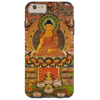 Capa Tough Para iPhone 6 Plus Budismo budista de Buddha que abençoa o Bohemian
