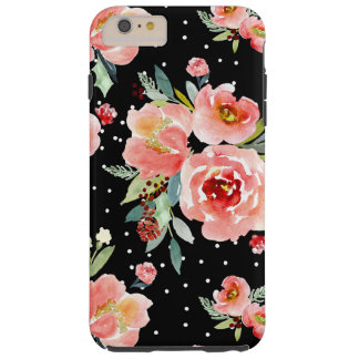 Capa Tough Para iPhone 6 Plus Caixa da flor da baga da neve