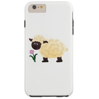 Capa Tough Para iPhone 6 Plus Carneiros felizes