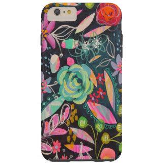 Capa Tough Para iPhone 6 Plus Caso crepuscular do telemóvel do jardim