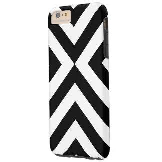Capa Tough Para iPhone 6 Plus Caso resistente positivo do iPhone 6 preto e