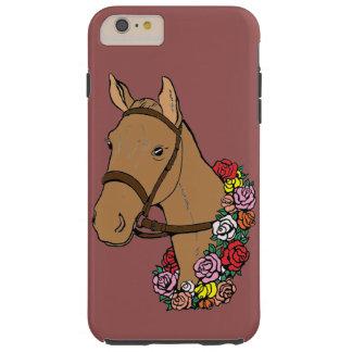 Capa Tough Para iPhone 6 Plus Cavalo do campeão