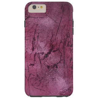 Capa Tough Para iPhone 6 Plus cobrir magenta do telefone do crackle