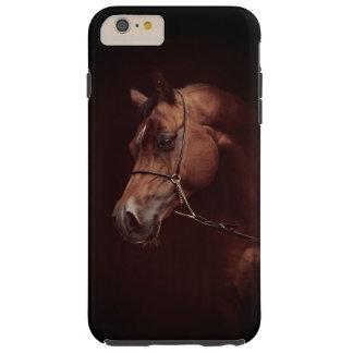 Capa Tough Para iPhone 6 Plus coleção do cavalo. baía árabe