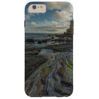 Capa Tough Para iPhone 6 Plus Costa rochosa do oceano