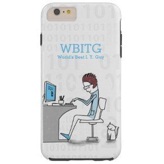 Capa Tough Para iPhone 6 Plus Desenhista engraçado da tecnologia ou do software