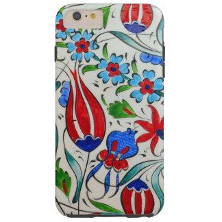 Capa Tough Para iPhone 6 Plus Design floral turco