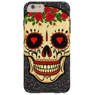Capa Tough Para iPhone 6 Plus Dia dos corações e das flores inoperantes do