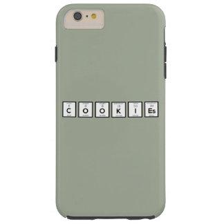 Capa Tough Para iPhone 6 Plus Elemento químico Z57c7 dos biscoitos