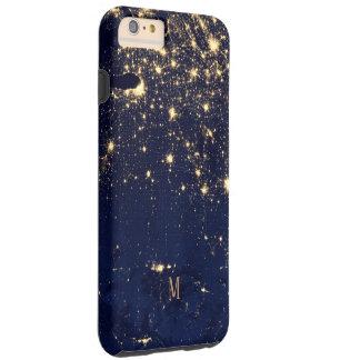 Capa Tough Para iPhone 6 Plus Estilo bonito Sparkling da forma dos começos do