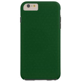 Capa Tough Para iPhone 6 Plus Forest Green customizável moderno,