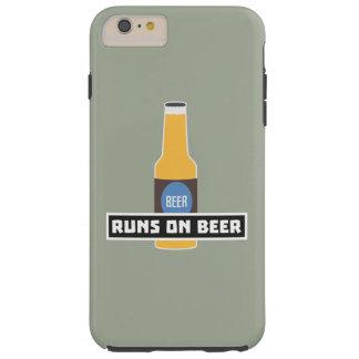 Capa Tough Para iPhone 6 Plus Funcionamentos na cerveja Z7ta2
