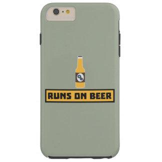 Capa Tough Para iPhone 6 Plus Funcionamentos na cerveja Zmk10