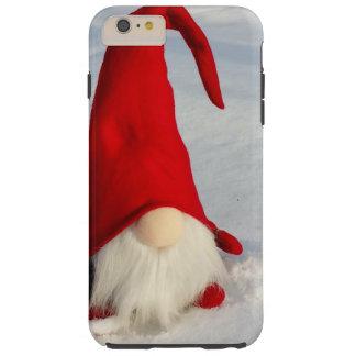 Capa Tough Para iPhone 6 Plus Gnomo escandinavo do Natal