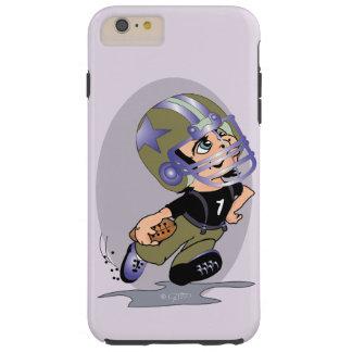 Capa Tough Para iPhone 6 Plus iPhone 6/6s dos DESENHOS ANIMADOS do FUTEBOL de