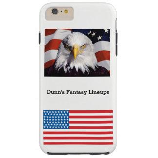 Capa Tough Para iPhone 6 Plus iPhone 6/6s mais o caso resistente (branco)