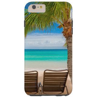 Capa Tough Para iPhone 6 Plus iPhone tropical 6/6s das cadeiras de praia das