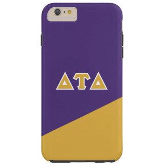Capa Tough Para iPhone 6 Plus Letras do grego do delta | da tau do delta