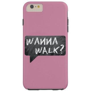 Capa Tough Para iPhone 6 Plus Mamã do hipster