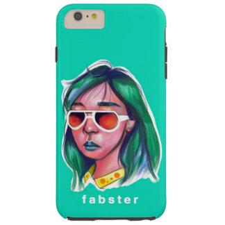 Capa Tough Para iPhone 6 Plus Menina de Fabster