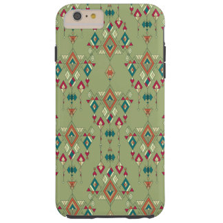 Capa Tough Para iPhone 6 Plus Ornamento asteca tribal étnico do vintage