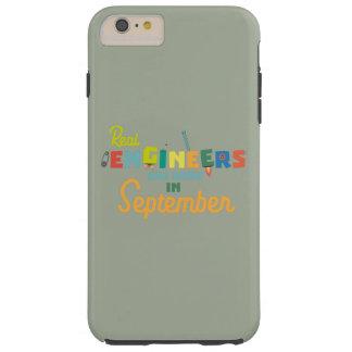 Capa Tough Para iPhone 6 Plus Os engenheiros são em setembro Zt500 nascidos