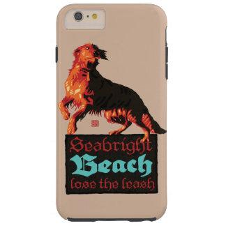 Capa Tough Para iPhone 6 Plus Praia de Seabright de Stephen Hosmer