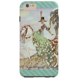 Capa Tough Para iPhone 6 Plus Princesa Equitação do conto de fadas um cavalo