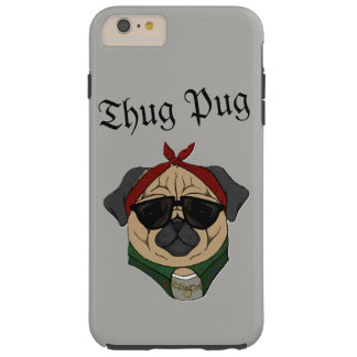 Capa Tough Para iPhone 6 Plus Pug do vândalo