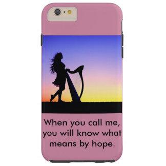 Capa Tough Para iPhone 6 Plus Quando você me chama, você saberá o que significa