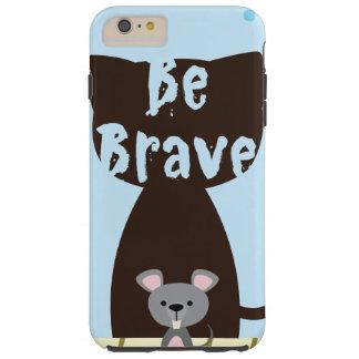 Capa Tough Para iPhone 6 Plus Seja rato pequeno bravo