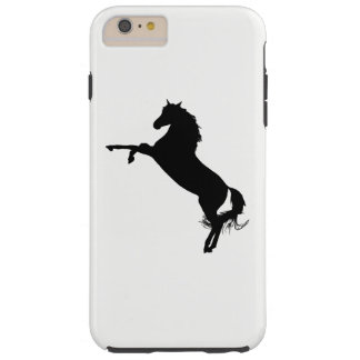 Capa Tough Para iPhone 6 Plus Silhueta árabe do cavalo