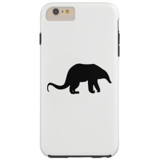 Capa Tough Para iPhone 6 Plus Silhueta do Anteater