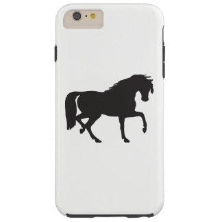 Capa Tough Para iPhone 6 Plus Silhueta do cavalo