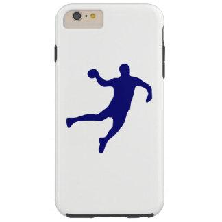 Capa Tough Para iPhone 6 Plus Silhueta do handball