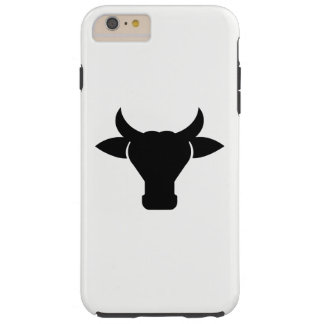 Capa Tough Para iPhone 6 Plus Silhueta principal da vaca