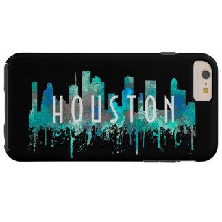 Capa Tough Para iPhone 6 Plus Skyline de Houston, Texas - selva do SG