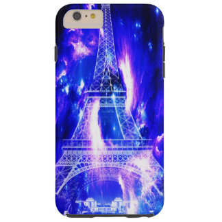 Capa Tough Para iPhone 6 Plus Sonhos Amethyst de Paris da safira