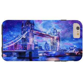 Capa Tough Para iPhone 6 Plus Sonhos da Londres do amante