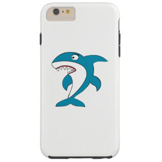 Capa Tough Para iPhone 6 Plus Tubarão
