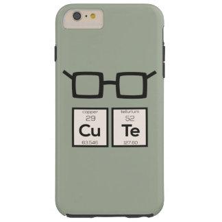 Capa Tough Para iPhone 6 Plus Vidros bonitos Zwp34 do nerd do elemento químico