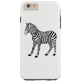 Capa Tough Para iPhone 6 Plus zebra